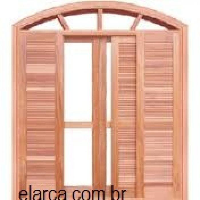 Porta Balc O Veneziana Reta Arco 100 X 210 Cx 14 V2