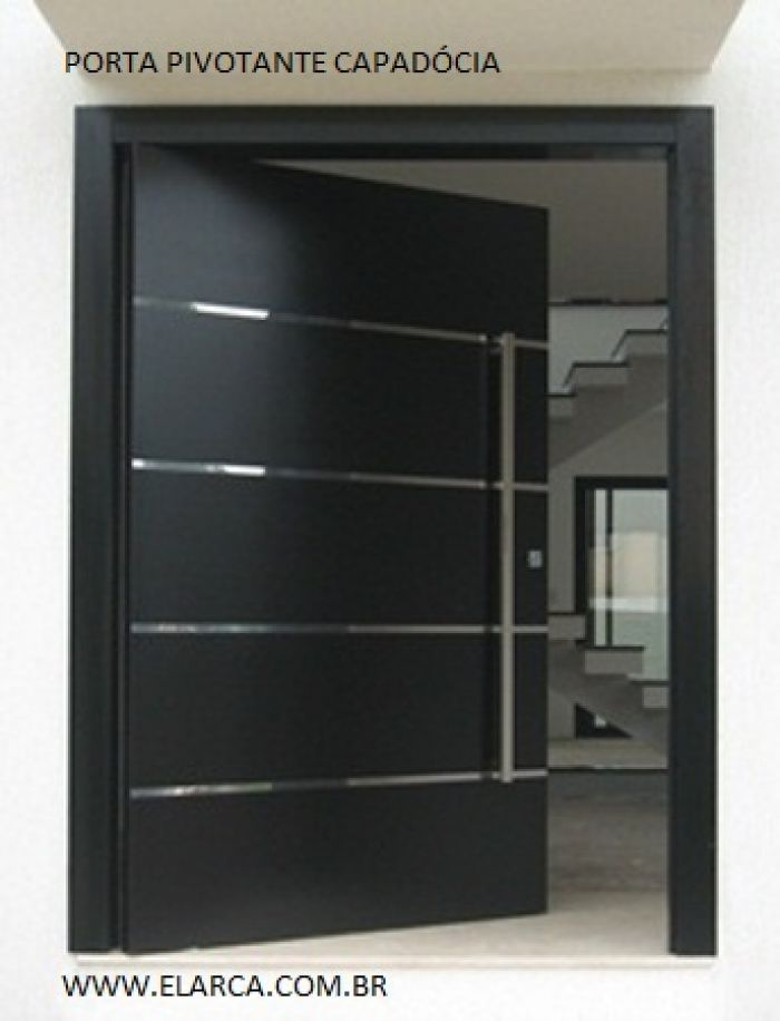 Porta ext pivotante branca mikonos 90 210 caixilho for Porta 1 20