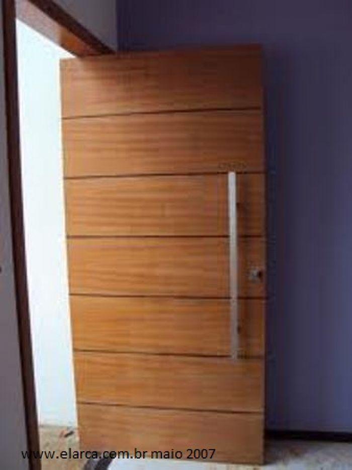 Porta interna frisada escolher friso natural em for Porta 1 20