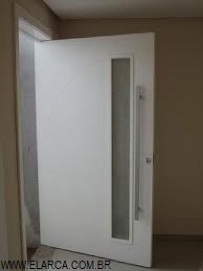 Porta externa pivotante planalto 100 x 210 com espa o para for Porta 1 20